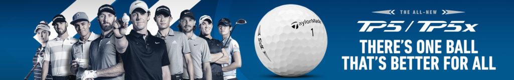 taylormade tp5 tp5x golf ball